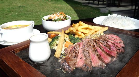 w senses restaurant steak