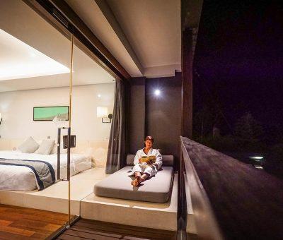 watermark hotel & spa bali balcony