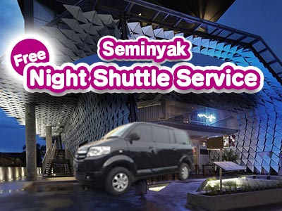 Night Shuttle Service seminyak